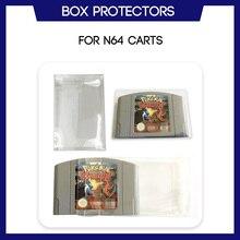 Boîte de protection pour cartouche de jeu N64 Nintendo 64, boîtier en plastique transparent sur mesure