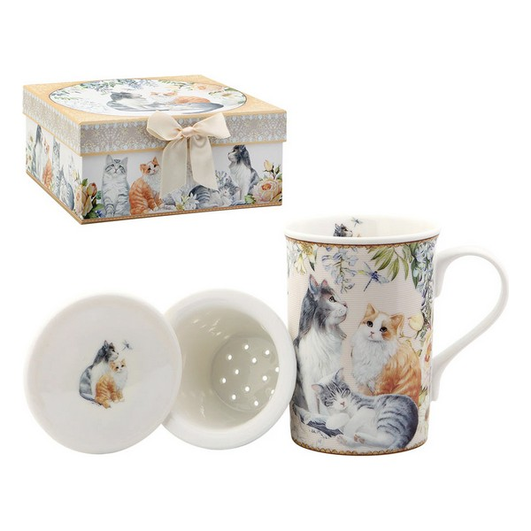 Cup With Tea Filter 116175 Cats