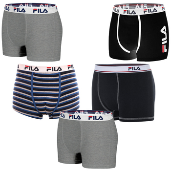 Pack 5 FILA Boxers assorted for men