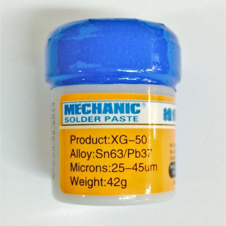 Tin In Solder Paste Mechanic XG-50 Sn63/Pb37 (10CC-42GR)