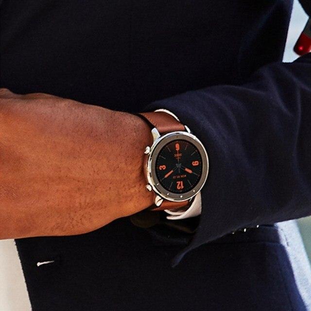 Pour Xiaomi Huami AMAZFIT GTR Smartwatch écran Retina 5ATM étanche GPS 47mm version globale-alliage daluminium