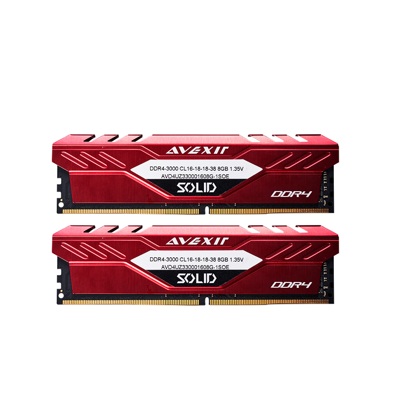 AVEXIR Soild series DDR4 8gb 16gb 2666 MHZ 3000mhz 3200mhz RGB RAM for gaming desktop dimm performance memoria ram image