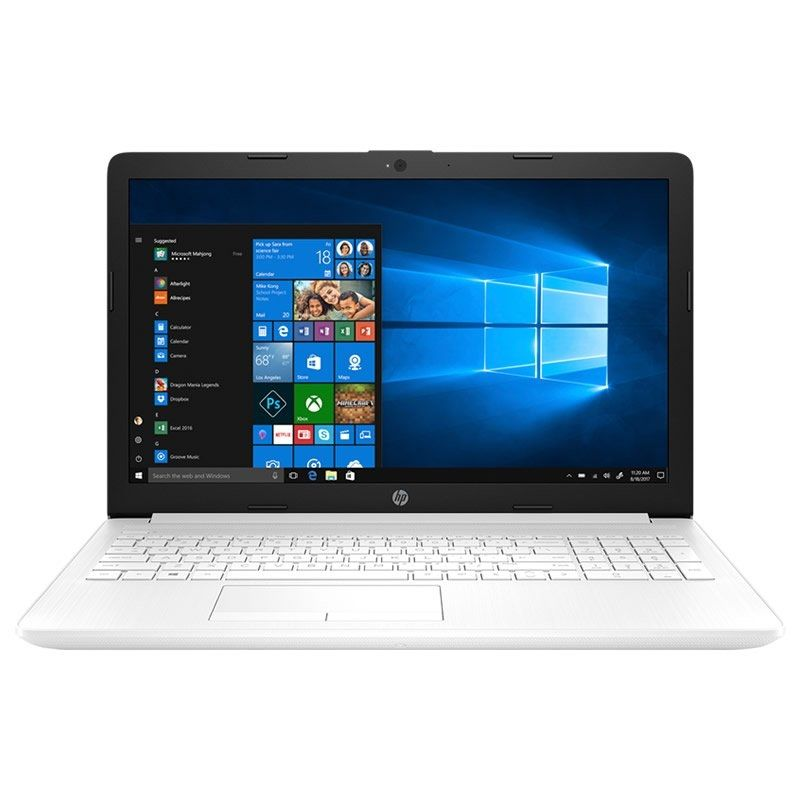 "HP LAPTOP COMPUTER 15-DA0189NS-I3-7020U 2.3 GHZ-SSD-15.6 ""/39.6CM HD-HDMI- BT-W10-WHITE SNOW"