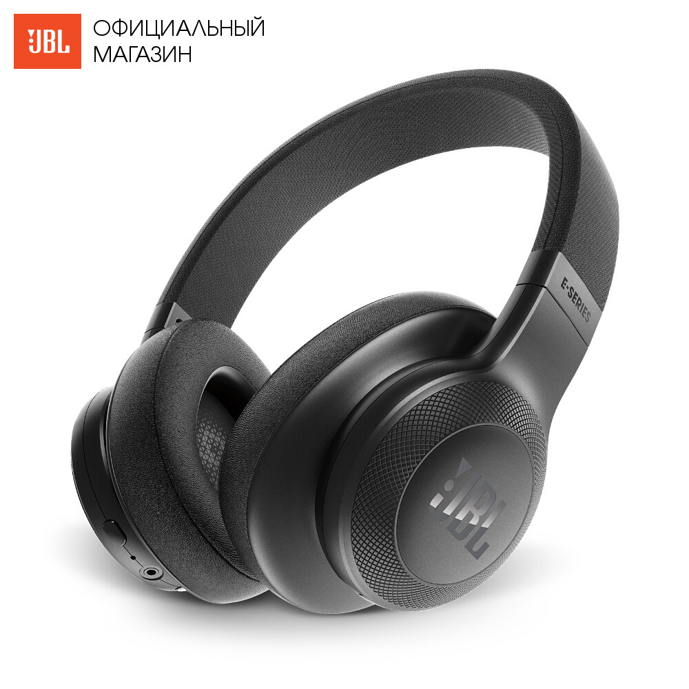 Earphones & Headphones JBL JBLE55BTBLK Portable Audio Video with microphone