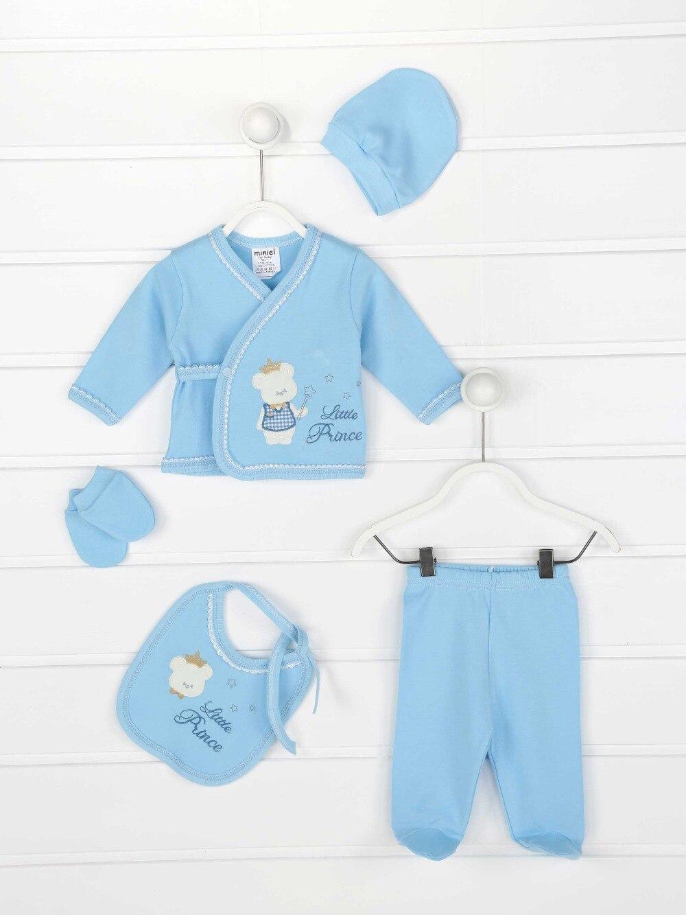 082-082-015 Mavi Yenidoğan Erkek Bebek 5 li Hastane Çıkışı (1)