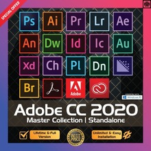 [Dernière] Adobe CC 2020 - 2021 Win 10 / Mac - Photoshop, illustrateur, After effect, Premiere Pro, InDesign, lighroom