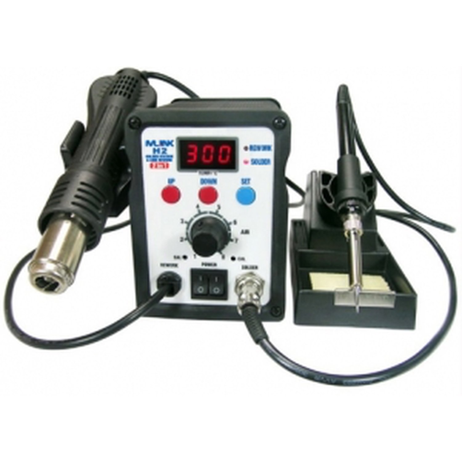 Station 2 In 1 Hot Air Welding And Soldering Iron MLINK H2