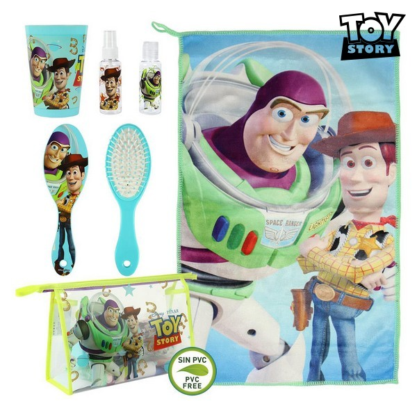 Child's Toiletries Travel Set Toy Story 72572 (6 Pcs) Light Blue