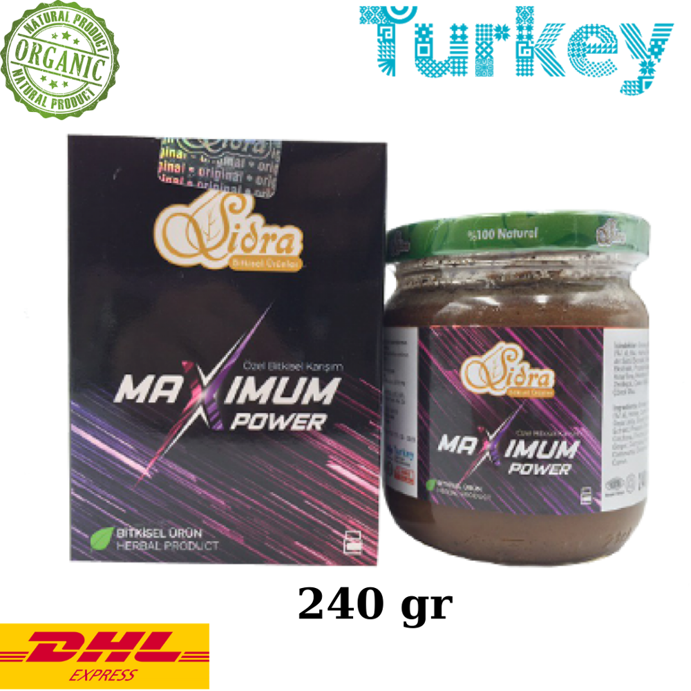 Sidra Maximum Power Epimedium Turkish Honey Mix – Turkish Paste, 240gr. %100 Halal