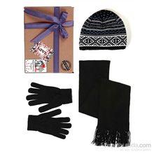 Conjunto de guantes, gorro bufanda, Ud.