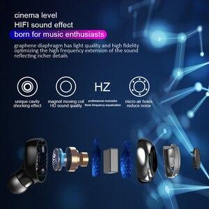 Image 3 - Беспроводные Bluetooth наушники TWS наушники Bluetooth 5,0 наушники с шумоподавлением Handsfree светодиодный цифровой дисплей наушники