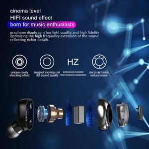 Image 3 - Tws fones de ouvido sem fio bluetooth 5.0 com cancelamento de ruído handsfree led display digital