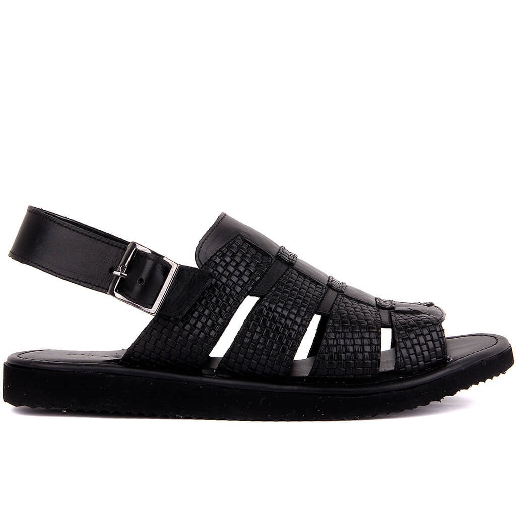 Sail-Lakers Men Genuine Leather Sandals Summer Classic Men Shoes Slippers Soft Sandals Men Roman Comfortable Walking Footwear