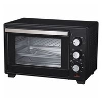 Mini forno elétrico comelec ho2504c 1600w preto