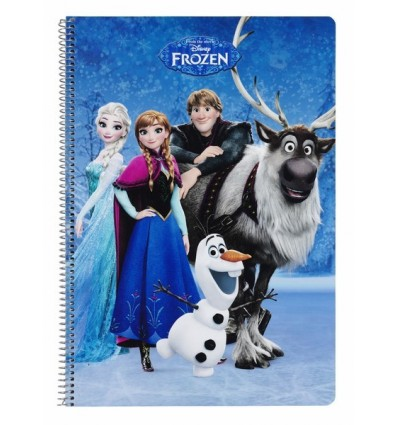 BOOK FOLIO 80 H HARDCOVER FROZEN