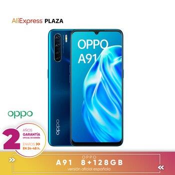 Перейти на Алиэкспресс и купить [Официальная гарантия испанской версии] смартфон OPPO A91 6,4 дюйма AMOLED, 8 жестких ГБ, 128 жестких ГБ, Восьмиядерный, камера заднего вида 48 + 8 + 2 + 2 Мп, ...