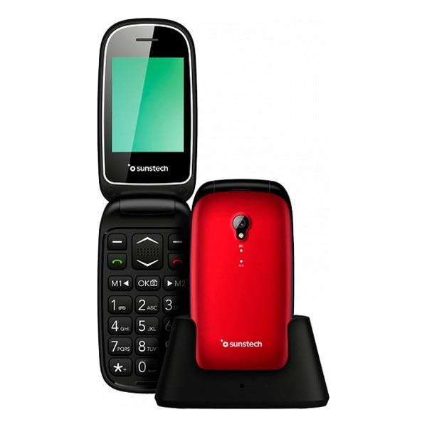 Mobile phone Sunstech CELT17 Red|Cellphones| |  - title=