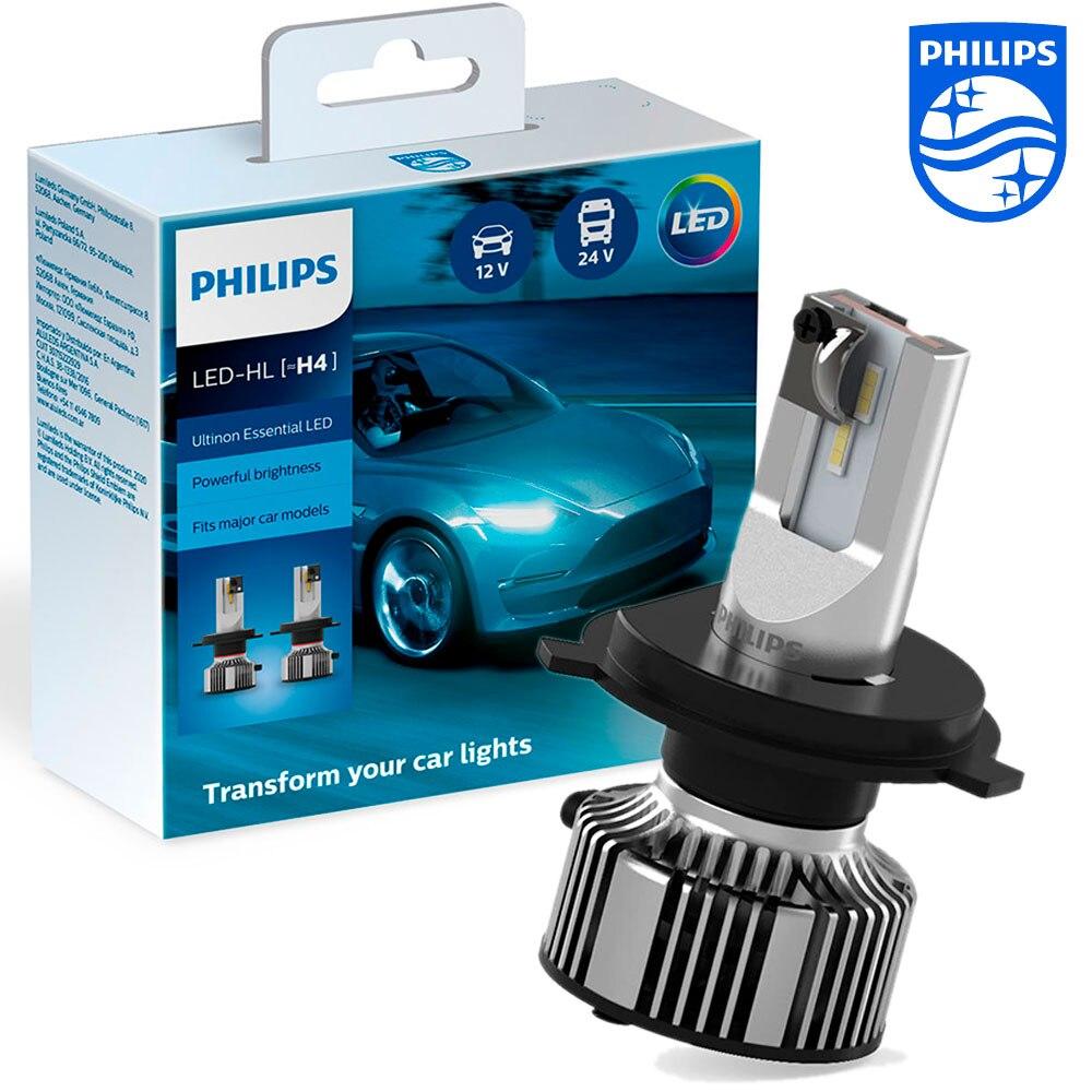 Автомобильные светодиодные лампы Philips Ultinon Essential LED H4 6500K (2 шт.) 11342UE2X2