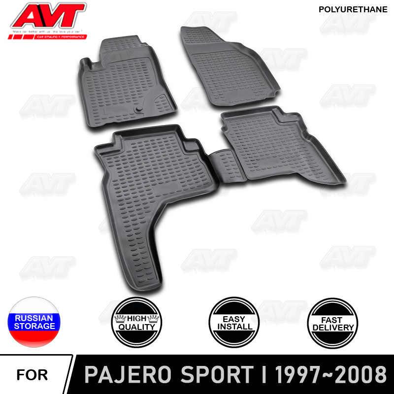 Tappeti Tappetini Artigianali per Mitsubishi Pajero Sport 00-06 su misura Ricama