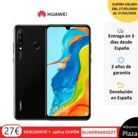 Huawei P30 Lite (4 duro gb di RAM, 128 duro gb di ROM, Google, Android, pubblicato, spedizione) [del telefono Mobile versione Spagnola] Piazza di Spagna, Mobile, dispositivo lampeggiante