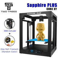 TWO TREES 3D Printer Sapphire plus CoreXY BMG Extruder Core xy 300*300*350mm Pro DIY Kits 3.5 inch touch screen facesheild