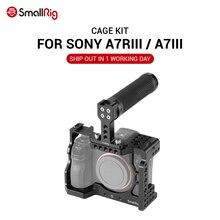 SmallRig A7M3 klatka operatorska zestaw do Sony A7RIII / A7III z kamerą uchwyt rękojeści do ręcznego, nagrywanie wideo