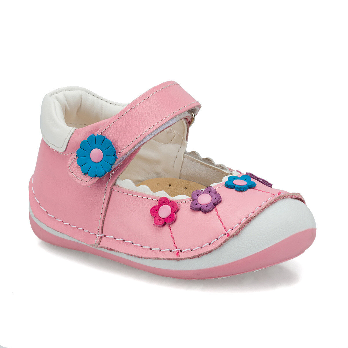 FLO 512236.I Pink Female Child Sneaker Shoes Polaris