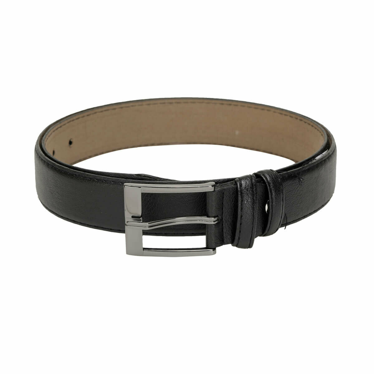 FLO MGVN3507 Black Male Belt Garamond