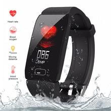 Q1 Smart band Heart Rate Blood Pressure health bracelet Fitness Tracker Bracelet Bluetooth Sport Watches fitness