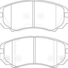 Колодки дисковые передние HyundaiTucson/Coupe, Kia Sportage 1.6