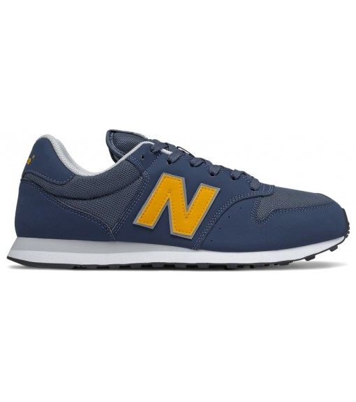 New Balance Gm500 men's trainers Navy/yellow GM500 VC1 image