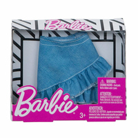 Accessory for doll Barbie skirt jeans