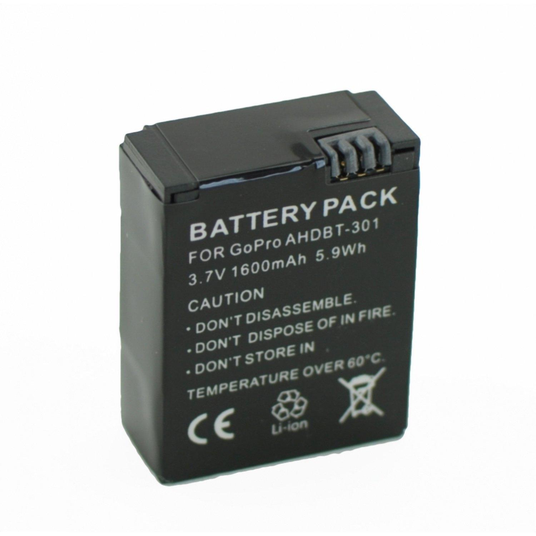 Battery Sport Camera GOPRO HERO 3 AND HERO 3 + (AHDBT-301)