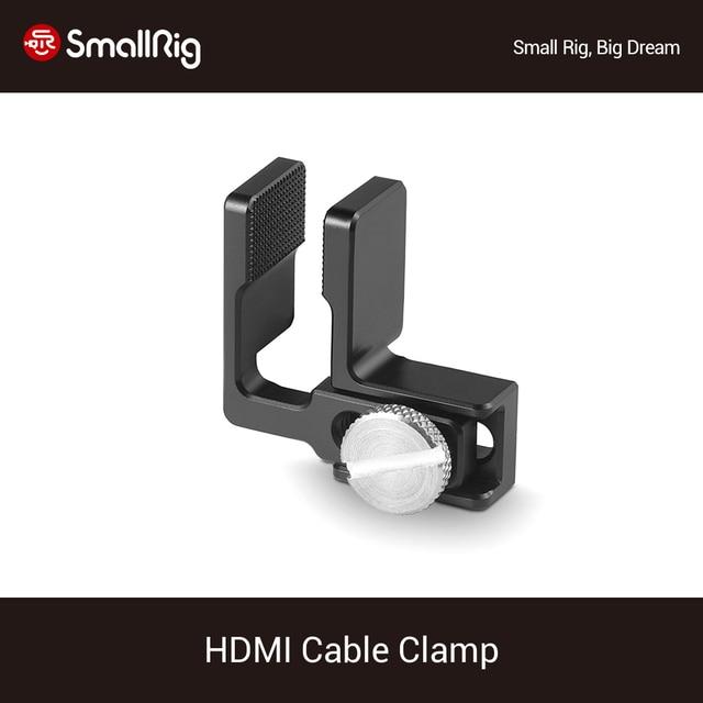 SmallRig HDMI Cavo Morsetto per Sony A6500/A6300/A6000/A7/A7R/A7S DSLR Cage Fotocamera (1661/1889/1620/1633)   1822