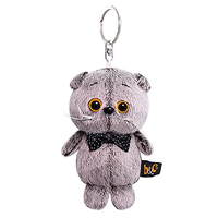 Cat Basik keychain bow Budi Basa gift surprise stuffed toy 12 cm Basik