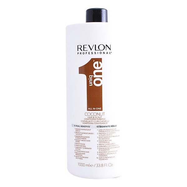 Moisturizing Shampoo Uniq One Coconut Revlon (1000 Ml)