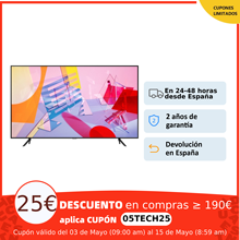 Samsung QLED, Smart TV Q64T y Q60TA, , televisión 43, 50, 55 y 65