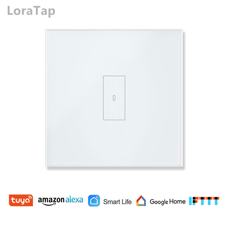 Smart Home WiFi Light Switch 2500W Touch Switch, Tuya Smart Life App Remote Control, Voice Control by Google Home, Alexa Echo
