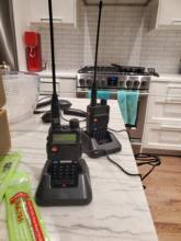 Two Baofeng UV-5R radios arrived from China to Canada in about 3.5 weeks. Radios work grea