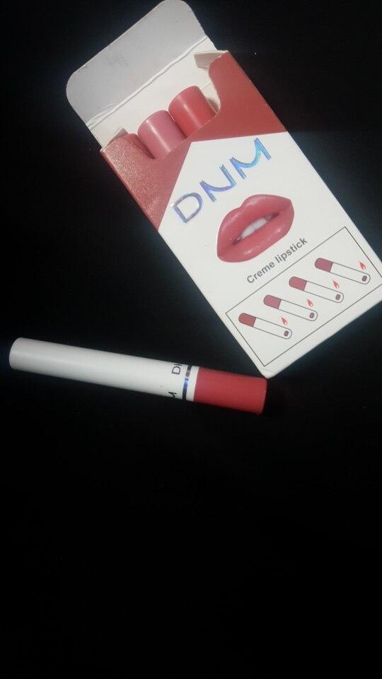 4 Colors Makeup Lipstick Cosmetics Lipstick Set Lip Tint Lip Gloss Waterproof Maquillaje Matte Long Lasting Make Up Pomade TSLM4 photo review