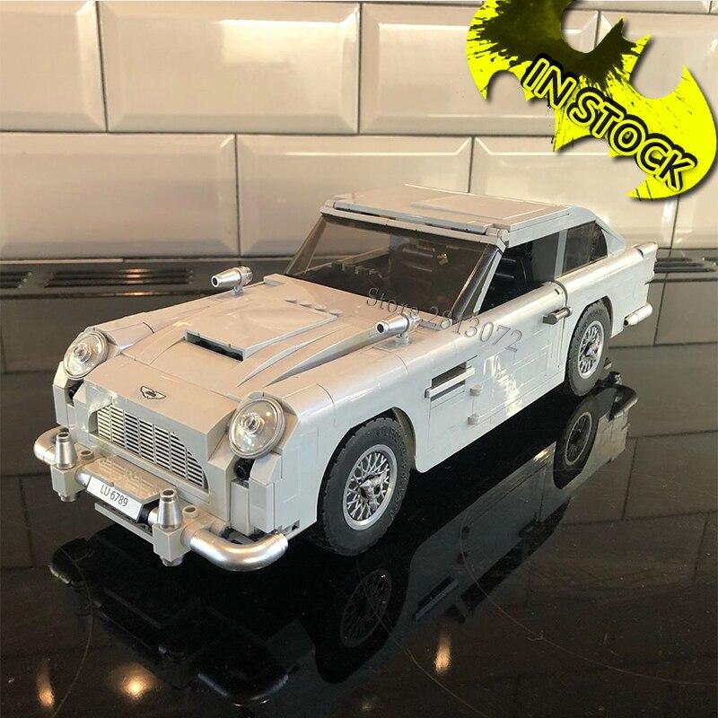 Aston DB5 James 21046 Creator 10262 007 Car Set 1450Pcs Technic Model Building Blocks Bricks Education Toys