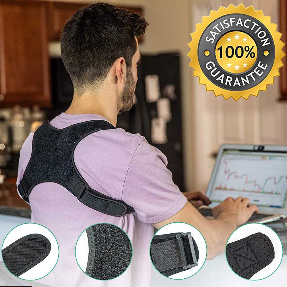 Spine Back Posture Corrector and Protection 3
