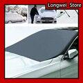 Автомобильный Магнитный солнцезащитный чехол для лобового стекла автомобиля солнцезащитный козырек для снега водонепроницаемый защитный...