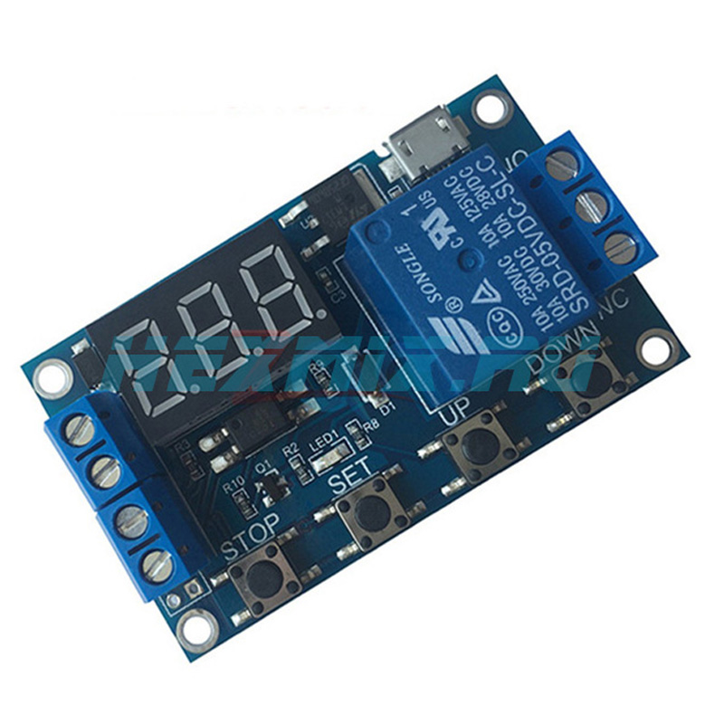Ws16 Programmable Time Relay DC 6-30v