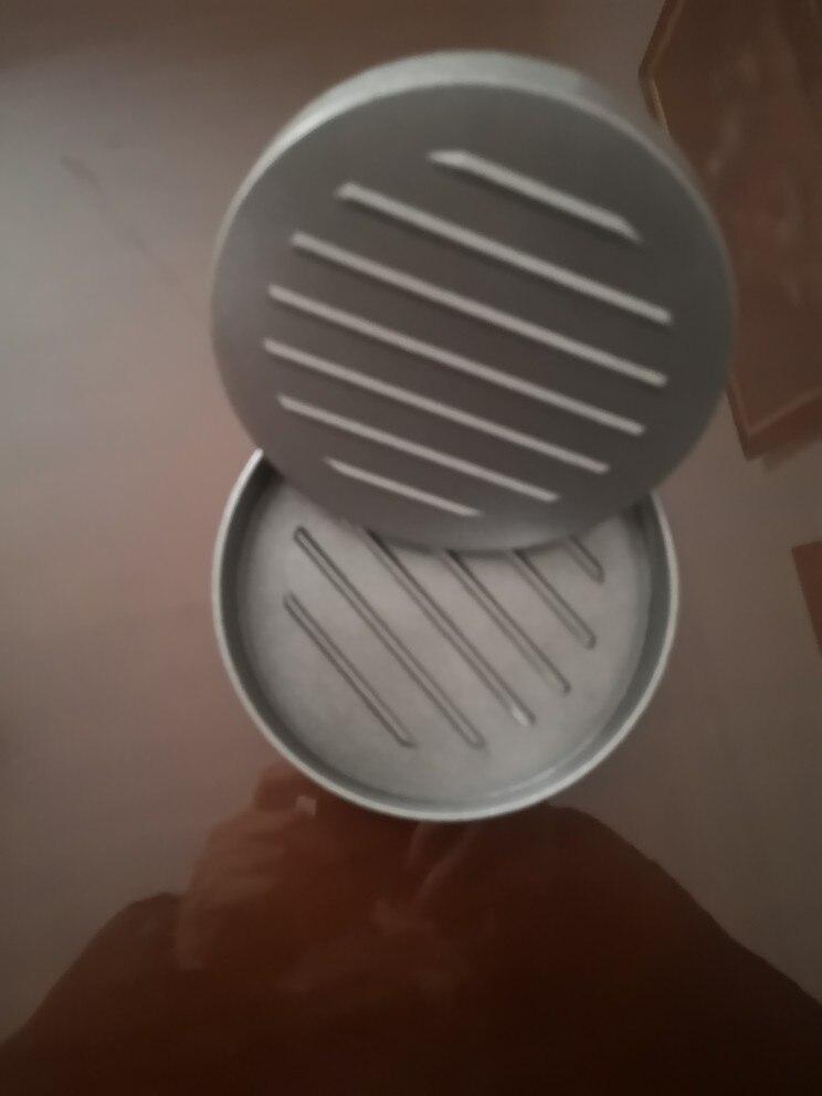 High quality Round Shape Hamburger Press Aluminum Alloy 11 cm Hamburger Meat Beef Grill Burger Press Kitchen Food Mold|Hamburger Makers| |  - AliExpress