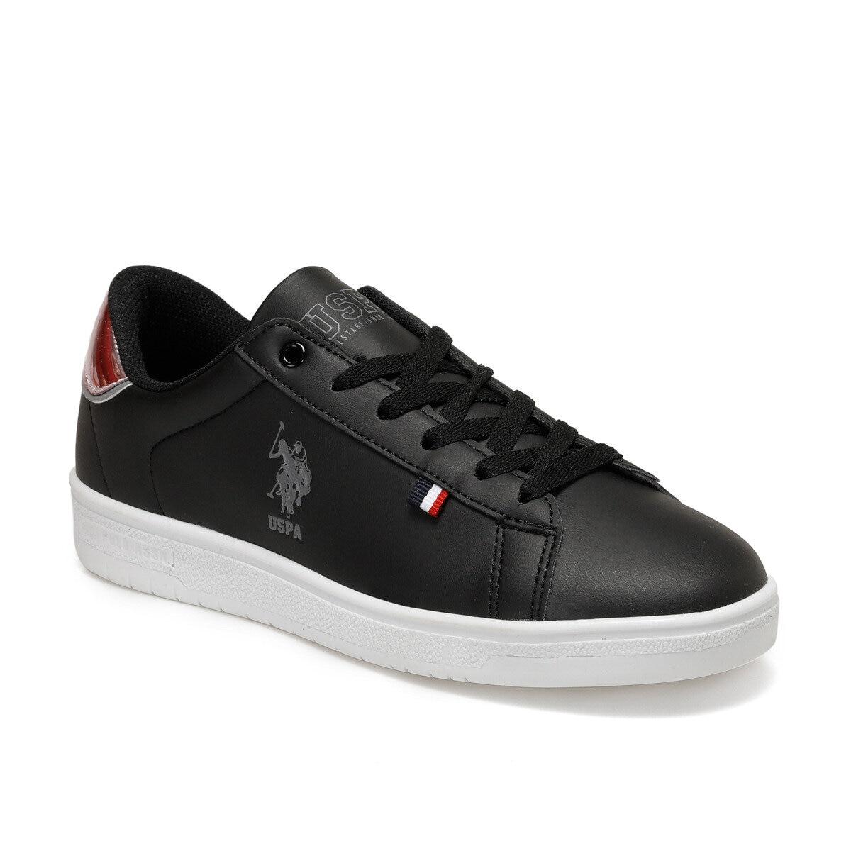 FLO SAUL Black Women 'S Sneaker Shoes U.S. POLO ASSN.