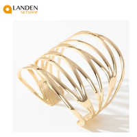 Posted goldtone cuff to the fashion and fashion jewerly/best Gifts high quality for women