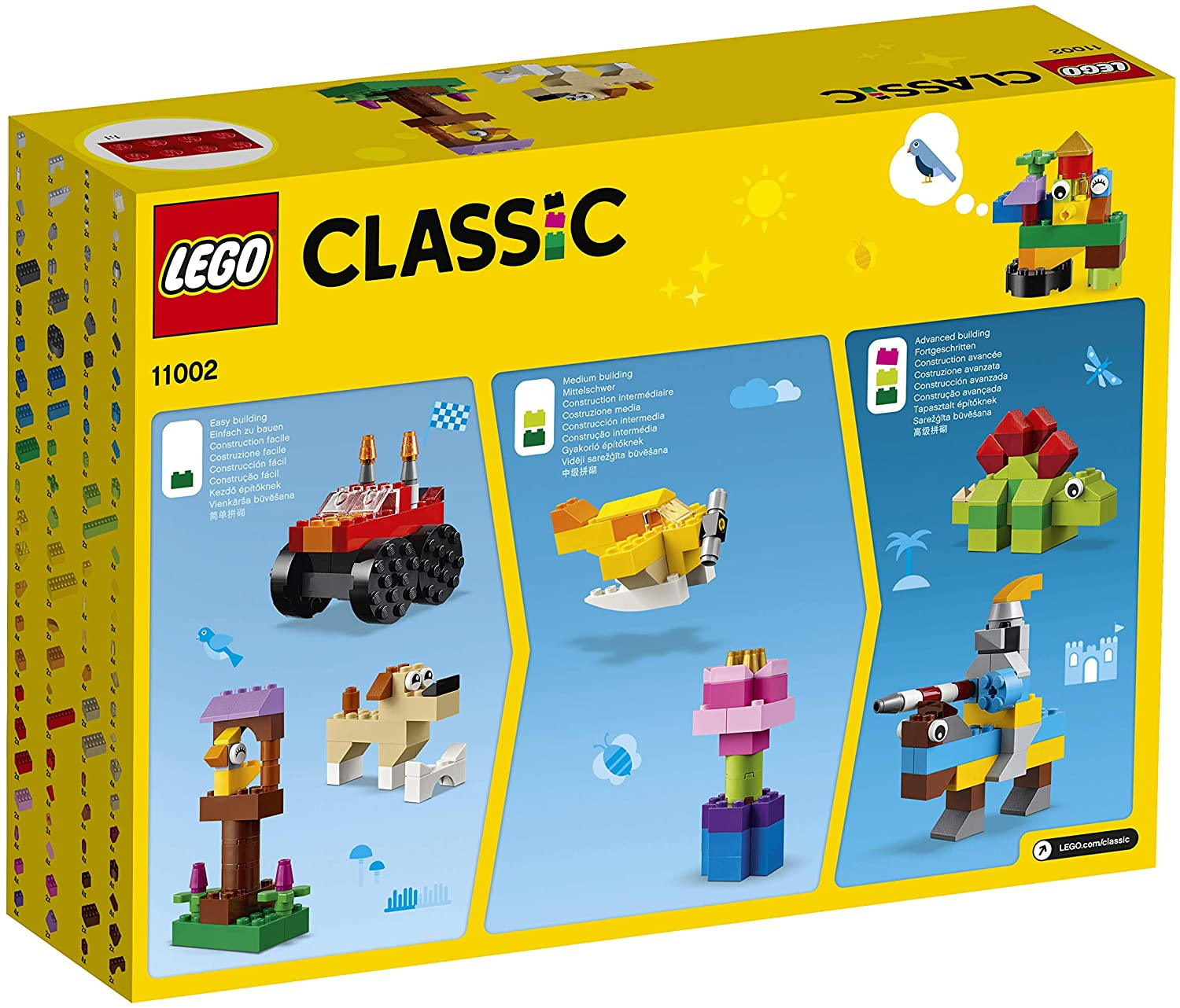 LEGO Classic basic bricks, didactic and creative building toy 25  25