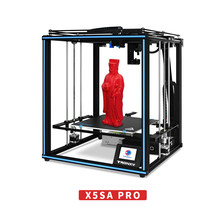 3D Drucker Tronxy X5SA PRO OSG Führungsschiene Titan Extruder Core XY 3D Drucker Flexible Filament 3d metall drucker PLA TPU ABS PETG