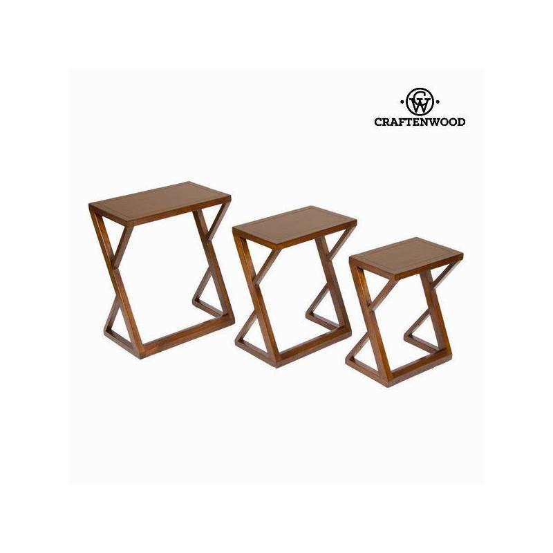 Set 3 Nesting Tables-Collection Serious Line By Craftenwood